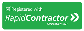 Registered with Rapid Contractor Management